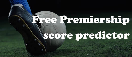 Premiership Score Predictor